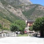 Benasque Plaza mayor
