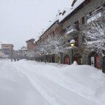 Gran nevada Enero 2017, Benasque Plaza Mayor